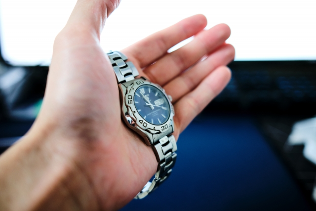 腕時計クリーニング前の注意点