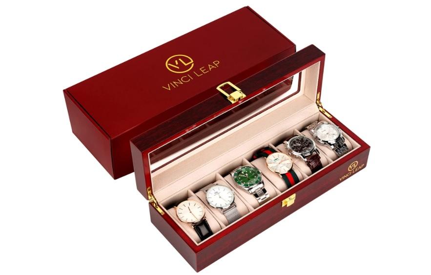 VINCI LEAP 腕時計収納ケース6本用